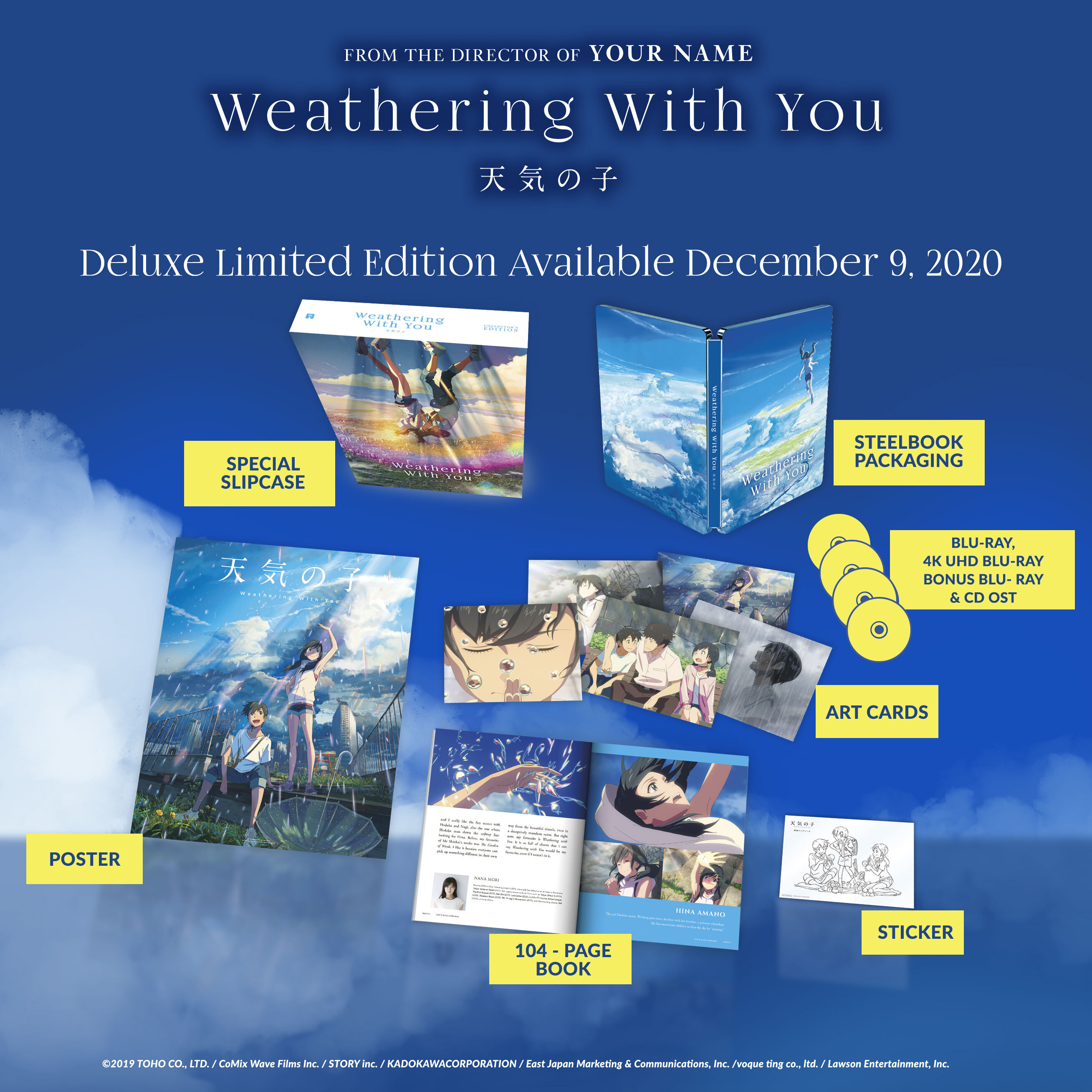 Weathering With You Available To Own Now On Disc And Digital